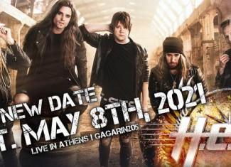 H.E.A.T.: Ορίστηκε νέα ημερομηνία της συναυλίας τους, για το 2021