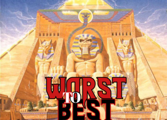 "IRON MAIDEN – Powerslave ""Worst to best"""