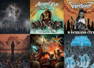 Underground Scans vol. 9 – 10 (AEONIAN SORROW, CHAINBREAKER, RUNELORD, AGAINST EVIL, JIRM, WITCH MOUNTAIN)