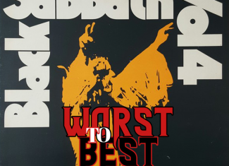 "BLACK SABBATH – Vol. 4 ""Worst to best"""